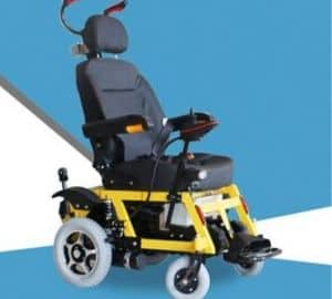 SED Lightweight Trolley Auxiliary Electric Wheelchair