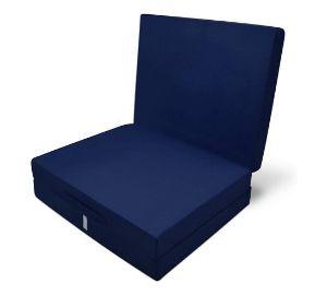 Space saving Beautissu folding chair