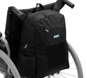 Supportec Deluxe Wheelchair Backpack Bag