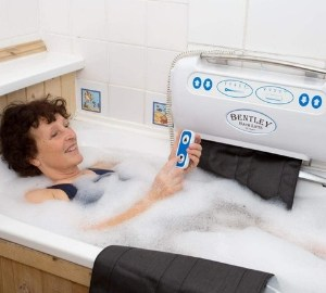 The ultimate mobility Bath Lift
