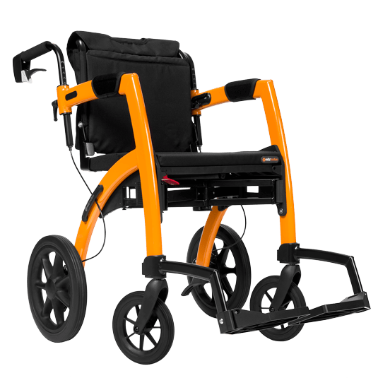 Transport wheelchair