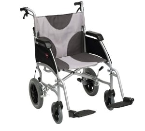 Ultra Lightweight Enigma Transit Wheelchair