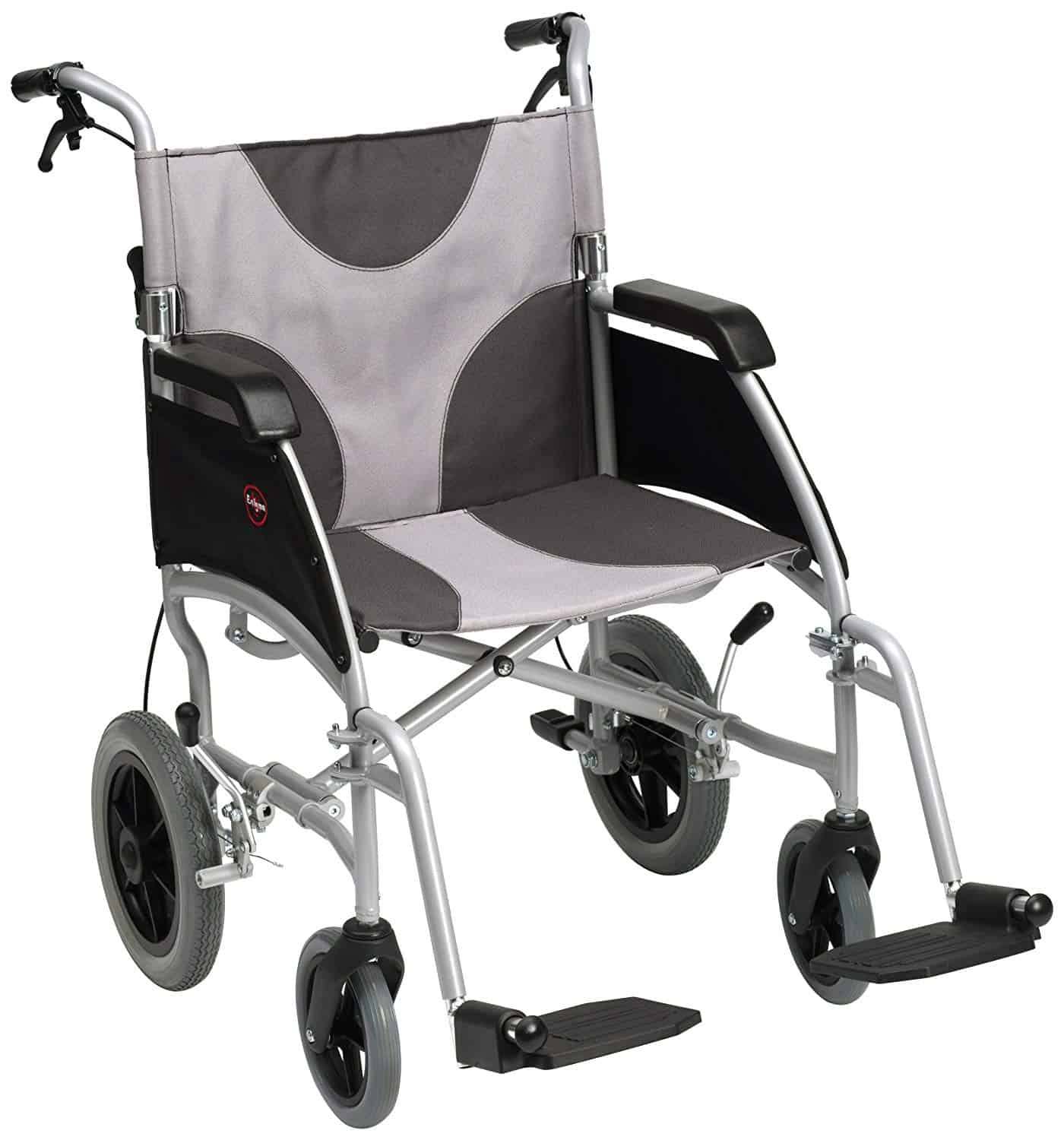 "Ultra Lightweight Enigma Transit Wheelchair with 20"" Seat Width"