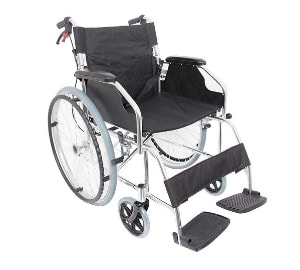 Ultra lightweight Folding Self Propelled Wheelchair