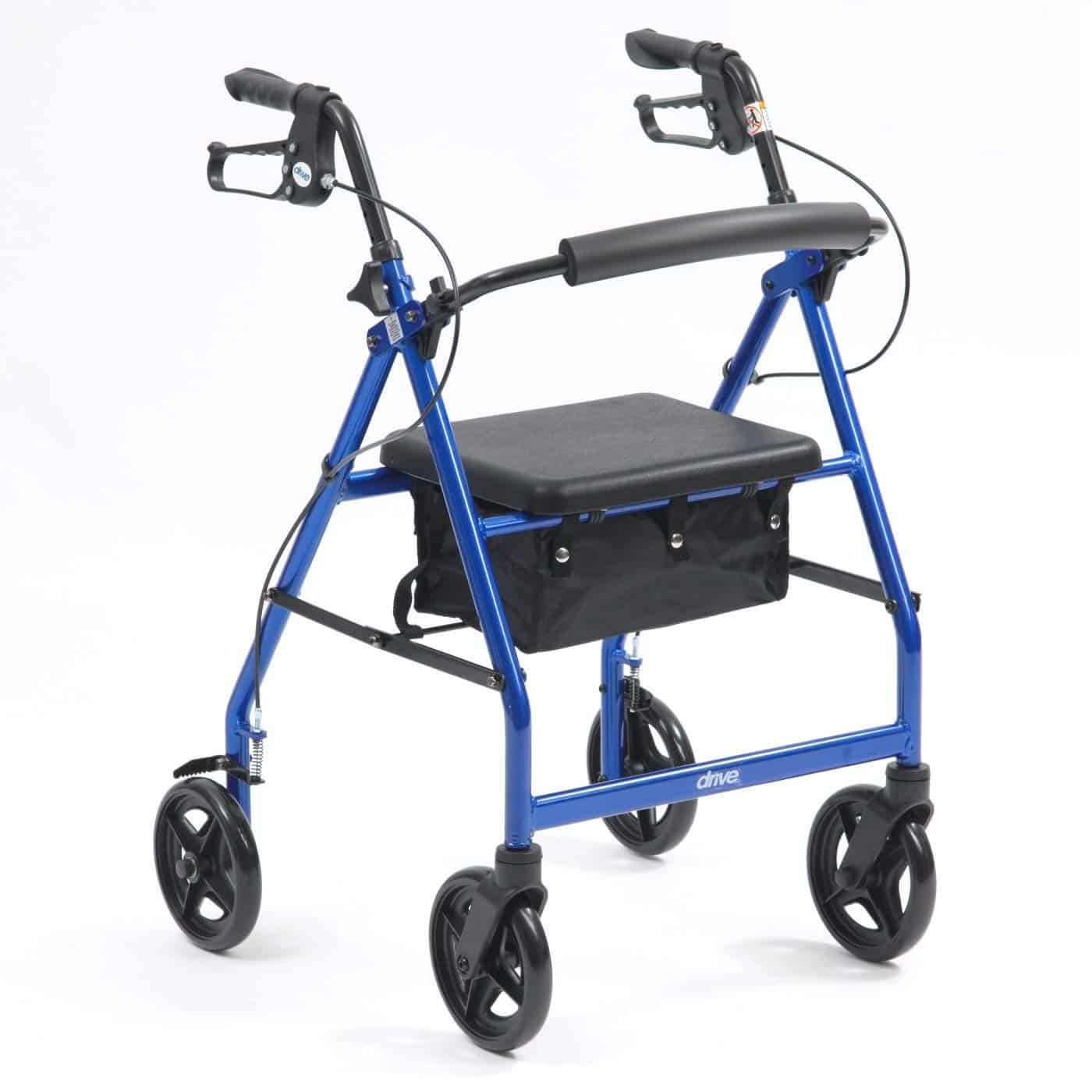 Ultra lightweight folding rollator