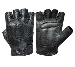 Wheelchair Gym Lamb Skin Gloves