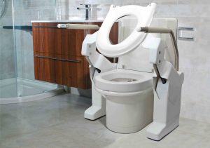 clos-o-mat toilet adaptation