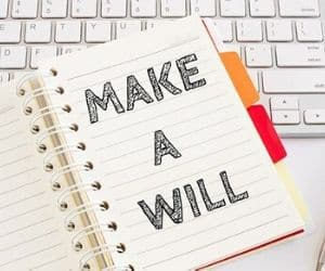 cost of making a will