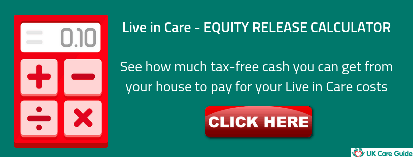 live in care costs calculator
