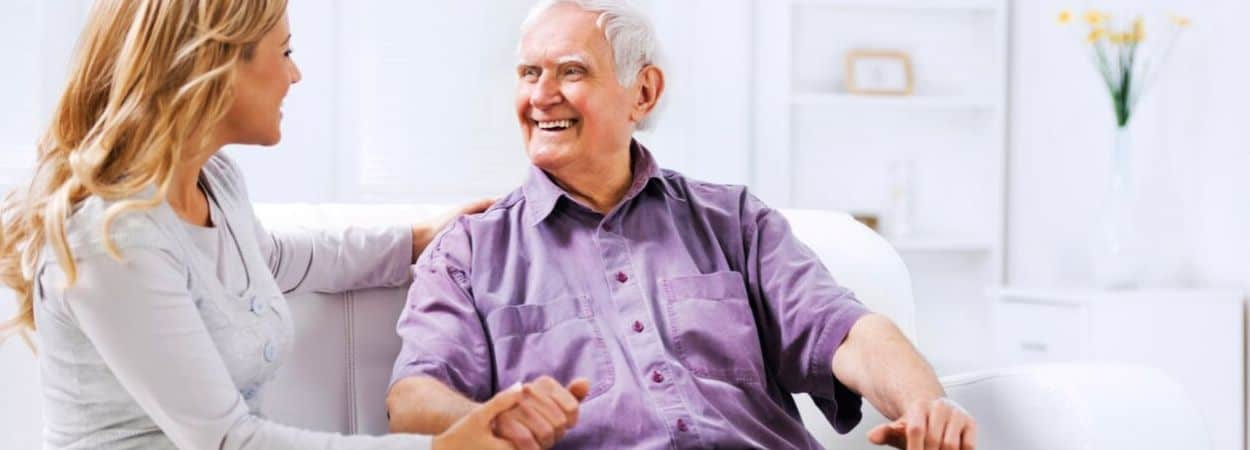 live in elderly care