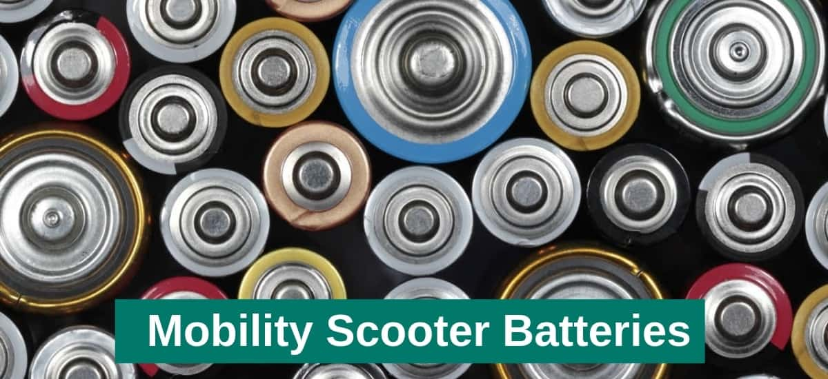 mobility scooters batteries