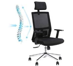 orthopedic computer chair
