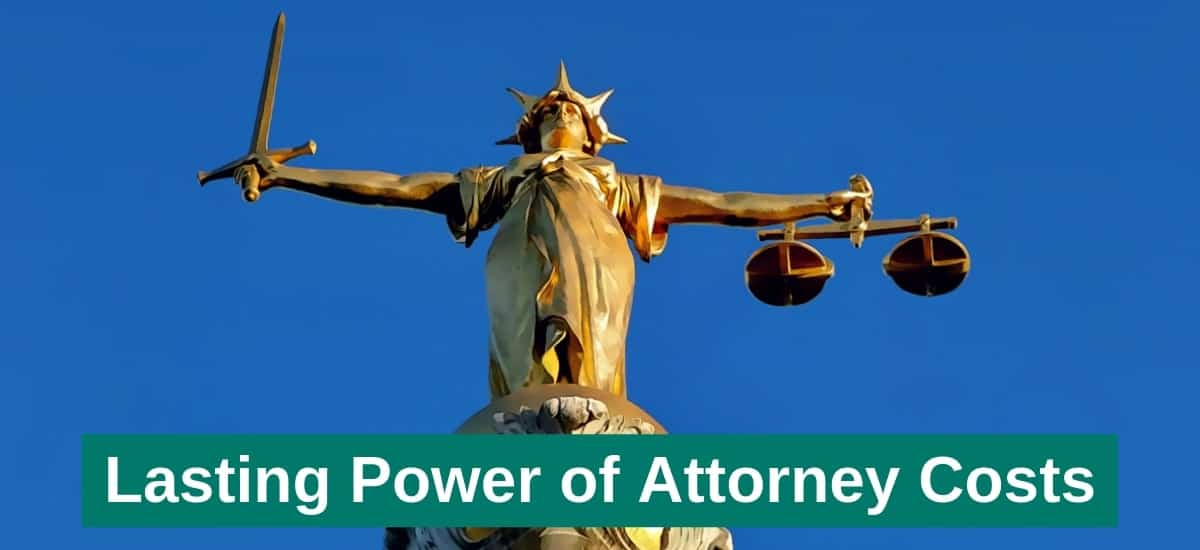 lasting power of attorney fees