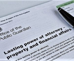 power of attorney property and financial affairs