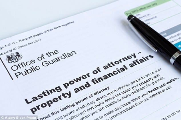 property power of attorney