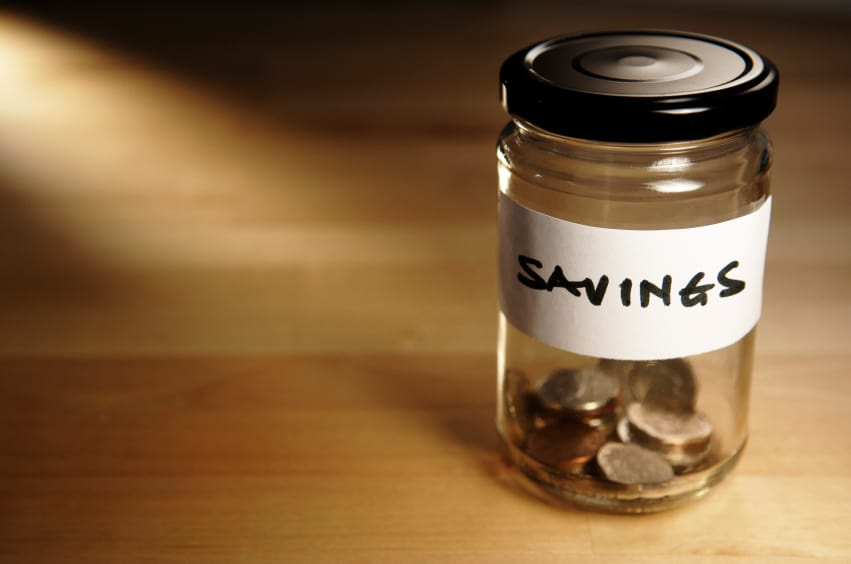 savings to pay care costs