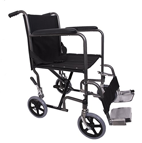 Angel mobility lightweight folding transit transfer travel for Lightweight motorized folding wheelchair