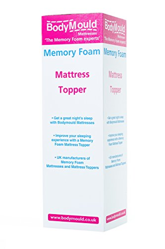 Bodymould Memory Foam Mattress Topper With Cover Uk Care Guide