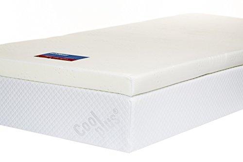 double memory foam mattress topper uk care guide. Black Bedroom Furniture Sets. Home Design Ideas