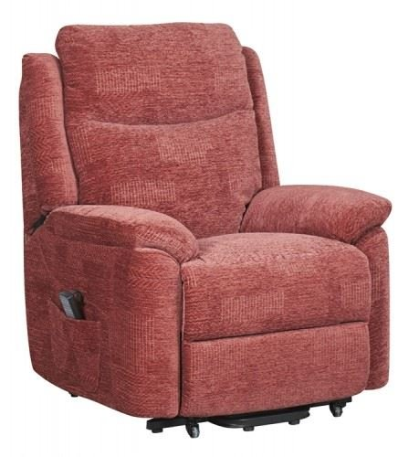 Evesham Fabric Electric Dual Motor Riser Recliner Chair ...