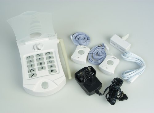 Lifemax Auto Dial Panic Alarm with Two Panic Buttons - UK Care Guide