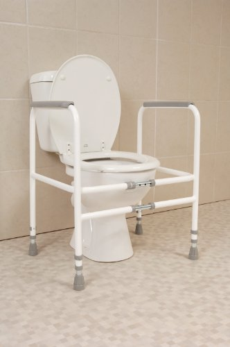 Nrs Healthcare M00870 Free Standing Toilet Frame Width