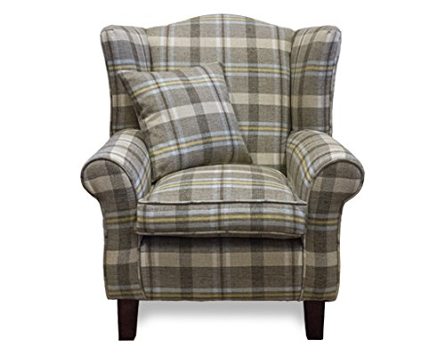 Wing Back Armchair Lounge Furniture Fireside Chairs